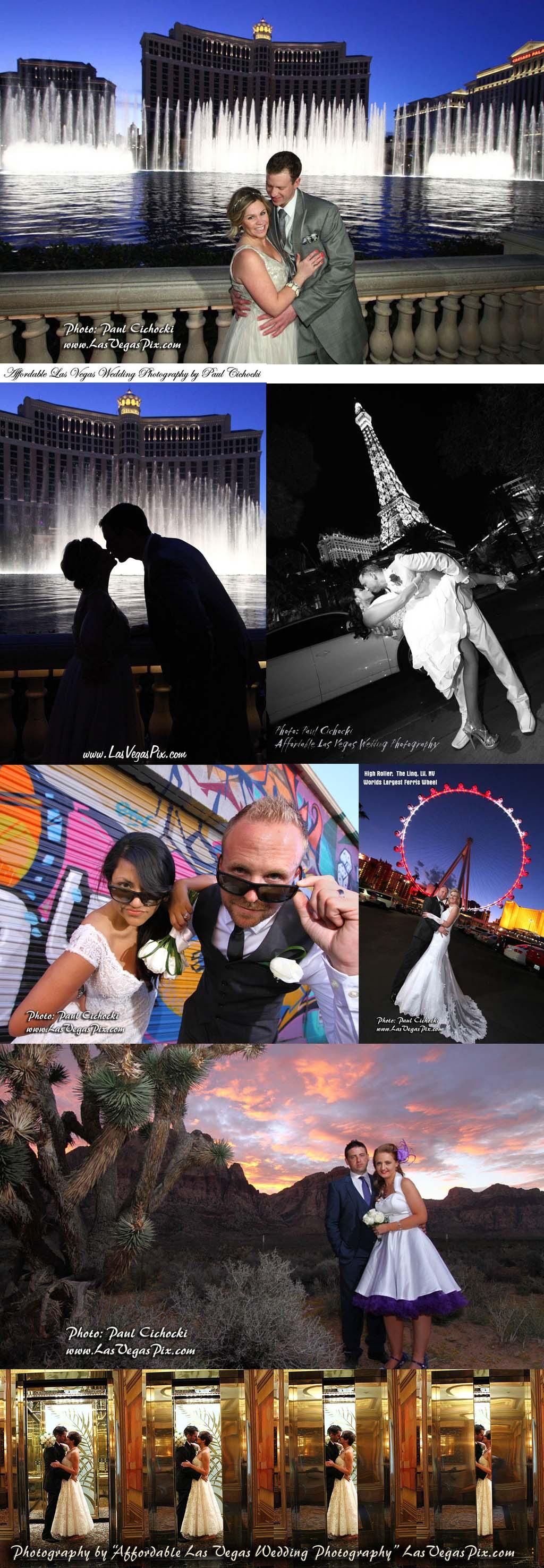 Affordable Las Vegas Wedding Photography Offers Budget Prices On Lasvegas Weddings Photographer Chapel Minister Chapels Elvis