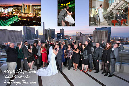 A Skyline Terrace Suite Mgm Gest Balconies In Vegas Has S Views Holds 15 40 People For Party Minister Or Officiant Can Come Up And Do